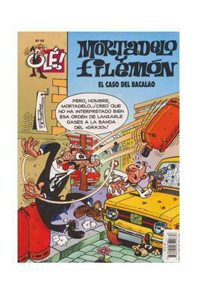 OLE MORTADELO 095: CASO DEL BACALAO, EL