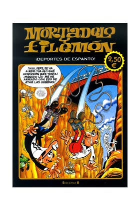 MORTADELO Y FILEMON: DEPORTES DE ESPANTO