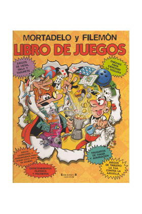 LIBRO JUEGOS MORTADELO Y FILEMON
