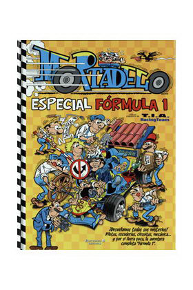 MORTADELO. ESPECIAL FORMULA 1 (AMARILLO)