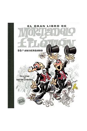 EL GRAN LIBRO DE MORTADELO Y FILEMON + DVD
