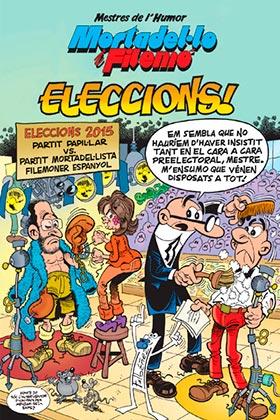 MESTRES DE L'HUMOR 45. ELECCIONS! (CATALAN)
