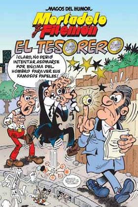 MAGOS HUMOR 167. EL TESORERO (MORTADELO Y FILEMON)