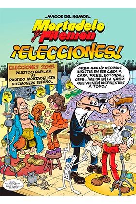 MAGOS HUMOR 179: ¡ELECCIONES! (MORTADELO Y FILEMON)