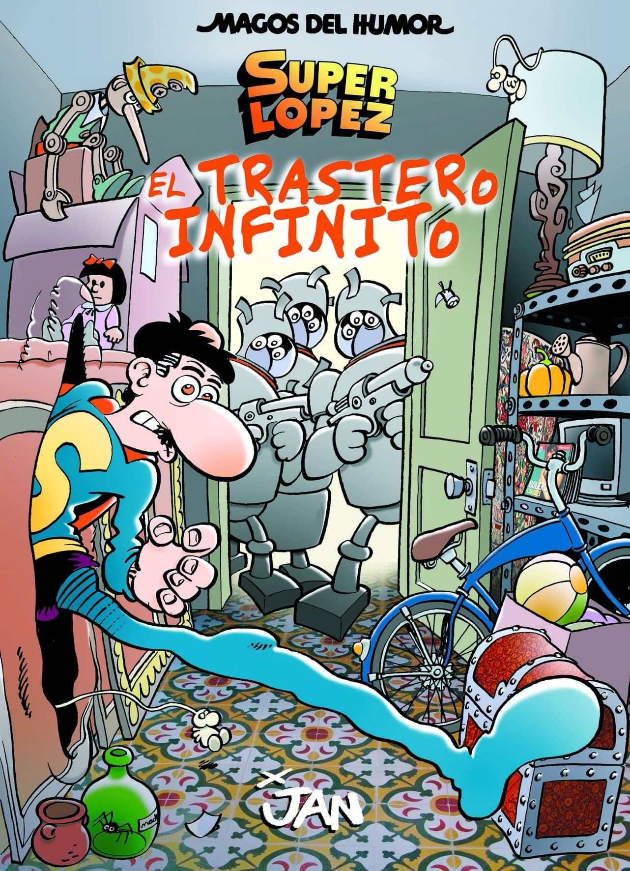MAGOS HUMOR 181:  EL TRASTERO INFINITO  (SUPERLOPEZ)