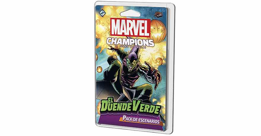 MARVEL CHAMPIONS LCG: EL DUENDE VERDE