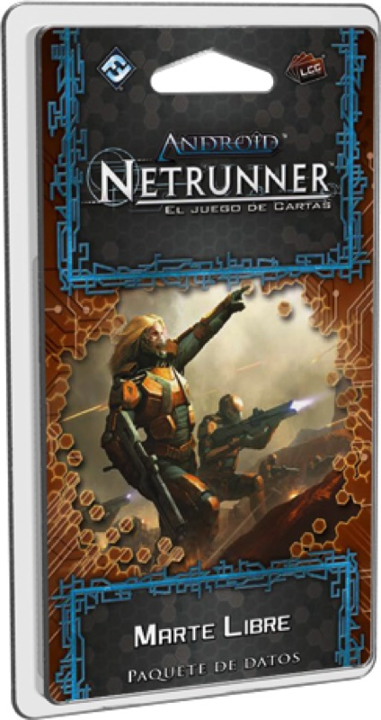 ANDROID NETRUNNER LCG: MARTE LIBRE