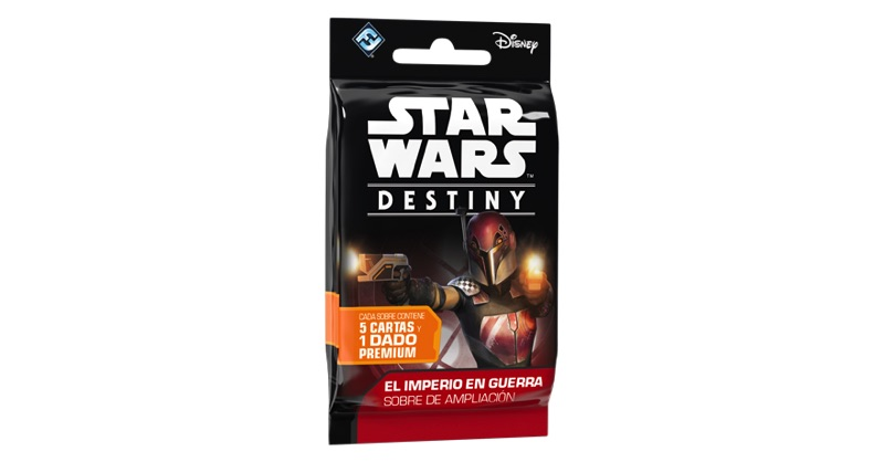EXCLUSIVO LG. STAR WARS DESTINY. EL IMPERIO EN GUERRA