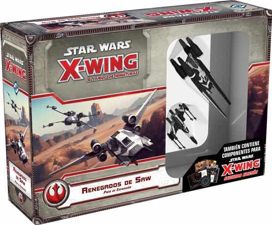 X-WING: RENEGADOS DE SAW