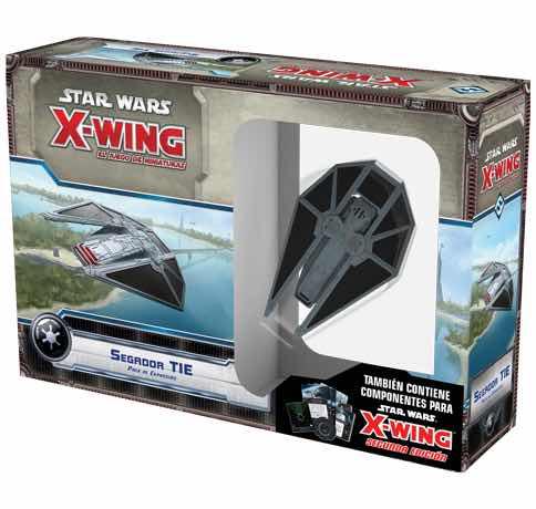 X-WING: SEGADOR TIE