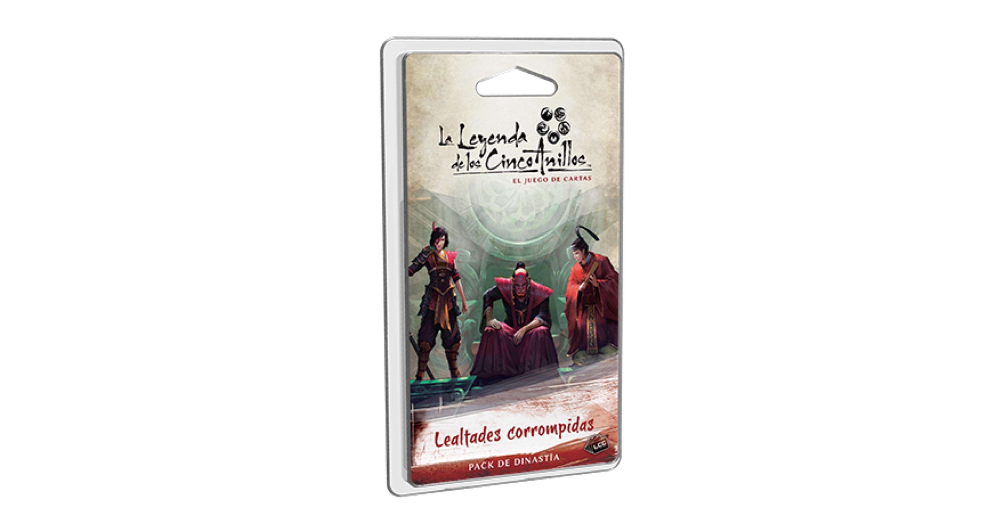LA LEYENDA DE LOS CINCO ANILLOS LCG: LEALTADES...