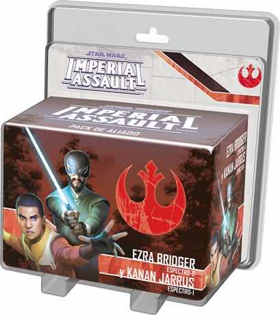 SW: IMPERIAL ASSAULT - EZRA BRIDGER Y KANAN JARRUS