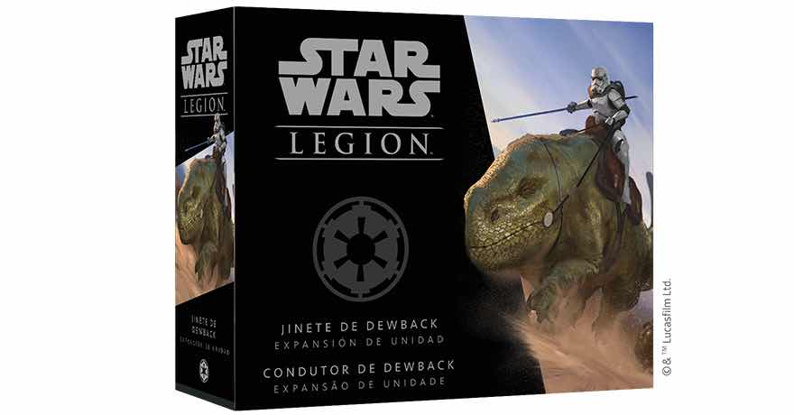 STAR WARS: LEGION JINETES DE DEWBACK
