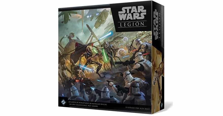 STAR WARS: LEGION LAS GUERRAS CLON