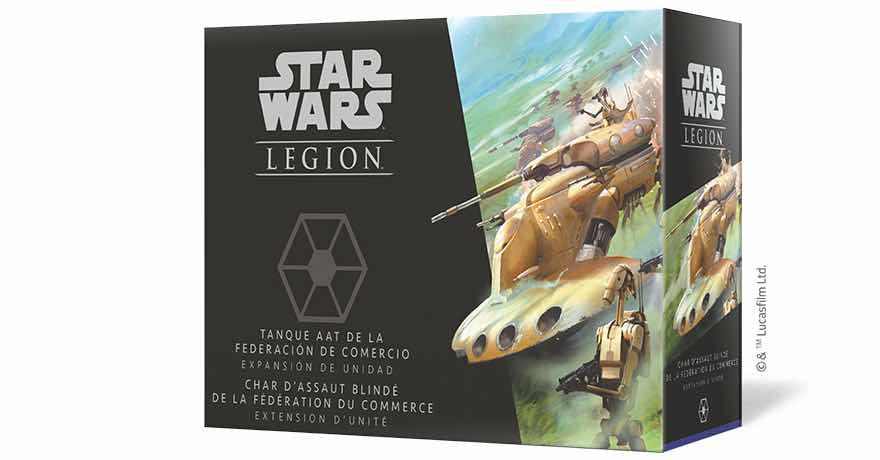 STAR WARS: LEGION TANQUE AAT DE LA FEDERACION DE COMERCIO