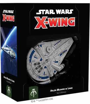 X-WING 2ª EDICION. HALCON MILENARIO DE LANDO