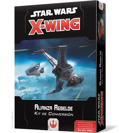 X-WING 2ª EDICION. ALIANZA REBELDE - KIT DE CONVERSION