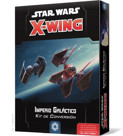 X-WING 2ª EDICION. IMPERIO GALACTICO - KIT DE CONVERSION