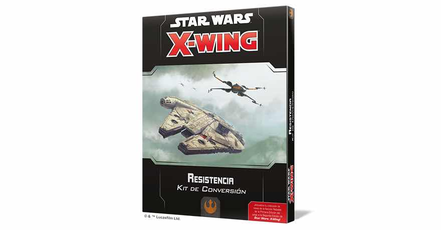 X-WING 2ª EDICION. RESISTENCIA - KIT DE CONVERSION