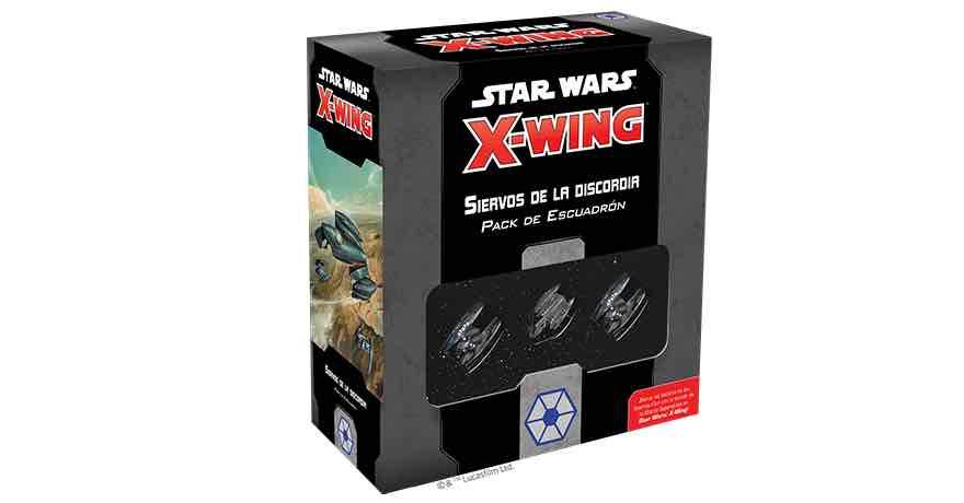 X-WING 2ª EDICION. SIERVOS DE LA DISCORDIA