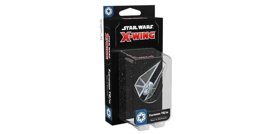 X-WING 2ª EDICION. FUSTIGADOR TIE/SK