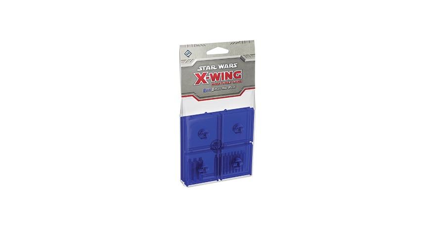 X-WING: PEANAS Y CLAVIJAS AZULES