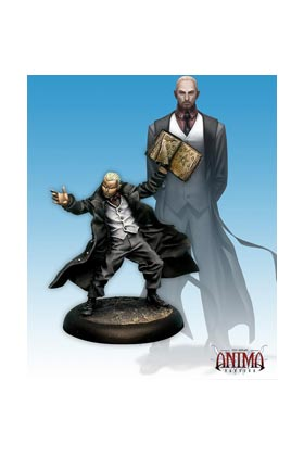 ANIMA TACTICS BLISTERS: LUTHER DELACROIX