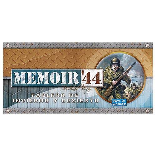MEMOIR 44. TABLERO DE INVIERNO Y DESIERTO