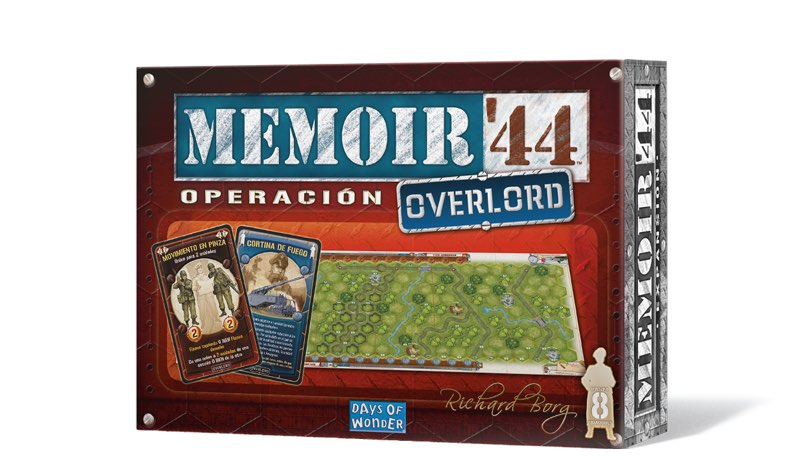 MEMOIR 44. OPERACION OVERLORD