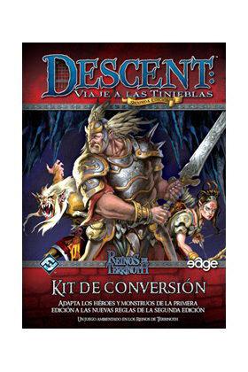 DESCENT 2ª ED.: KIT DE CONVERSION