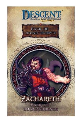 DESCENT- SEGUNDA ED. : LUGARTENIENTE ZACHARET