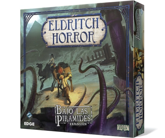 ELDRITCH HORROR - BAJO LAS PIRAMIDES