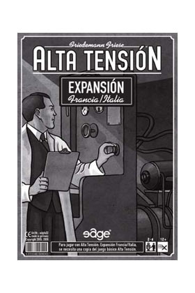 ALTA TENSION - EXPANSION FRANCIA - ITALIA