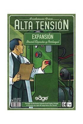 ALTA TENSION - EXPANSION ESPAÑA Y PORTUGAL-BRASIL + COLLECTOR BOX