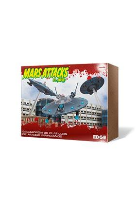 MARS ATTACKS: ESCUADRON DE PLATILLOS DE ATAQUE MARCIANOS