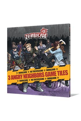 ZOMBICIDE. ANGRY NEIGHBORS GAME TILES