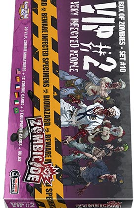 ZOMBICIDE. VIP: VERY INFECTED PEOPLE #2
