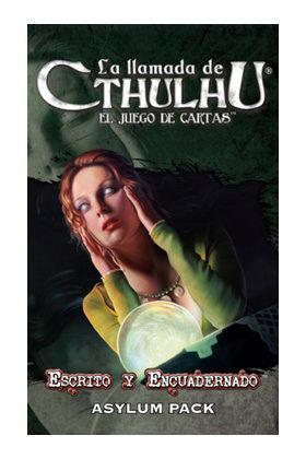 CTHULHU LCG - RDP - ESCRITO Y ENCUADERNADO -  ASYLUM PACK