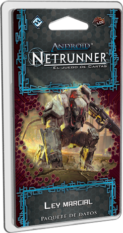 ANDROID NETRUNNER LCG: LEY MARCIAL