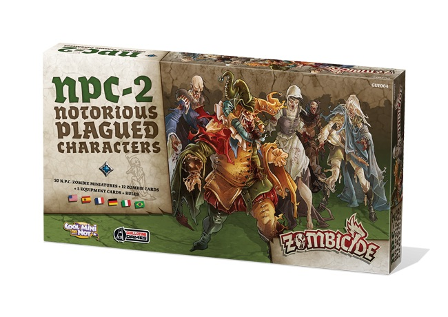 ZOMBICIDE: BLACK PLAGUE. NOTORIOUS PLAGUED CHARACTERS #2