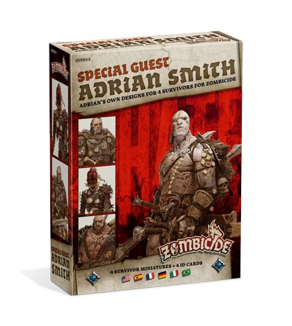 ZOMBICIDE: BLACK PLAGUE. SPECIAL GUEST: ADRIAN SMITH