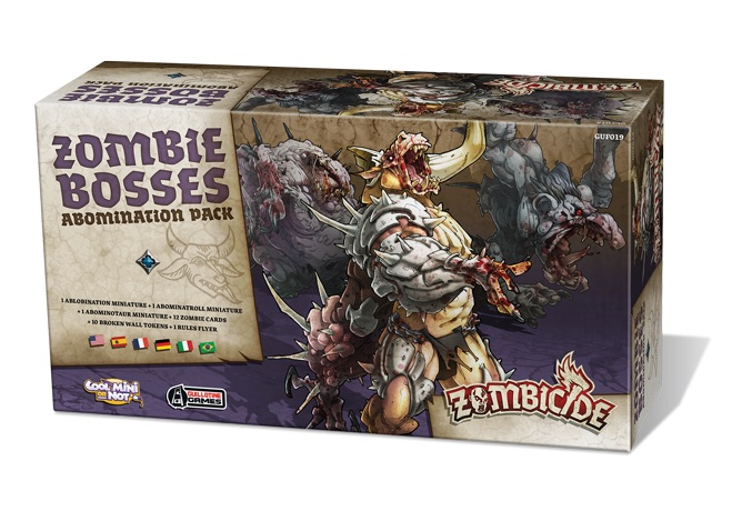 ZOMBICIDE: BLACK PLAGUE. ZOMBIE BOSSES ABOMINATION PACK