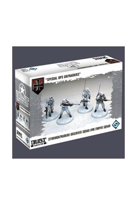 DUST TACTICS - SPECIAL OPS GRENADIERS