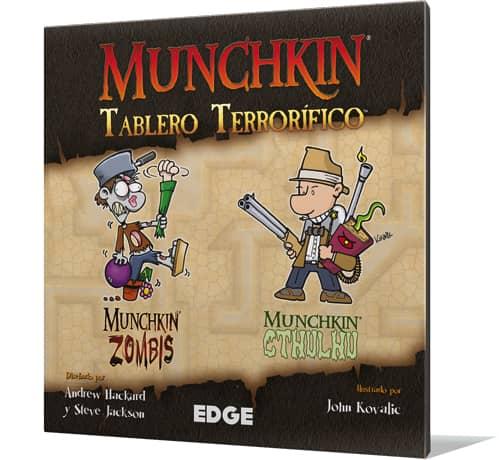 MUNCHKIN. TABLERO TERRORIFICO