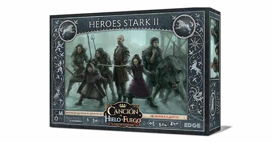 CANCION DE HIELO Y FUEGO JDM: HEROES STARK II