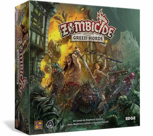 ZOMBICIDE: BLACK PLAGUE. GREEN HORDE