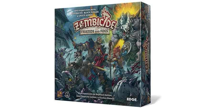 ZOMBICIDE: BLACK PLAGUE. FRIENDS AND FOES