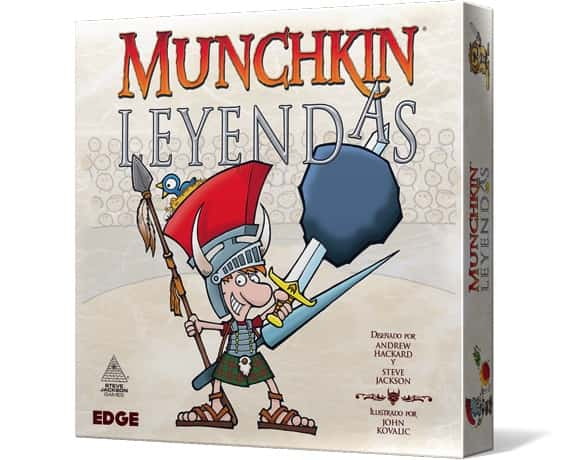 MUNCHKIN LEYENDAS - JCNC