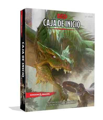 DUNGEONS & DRAGONS: CAJA DE INICIO EDICION ESPAÑOLA