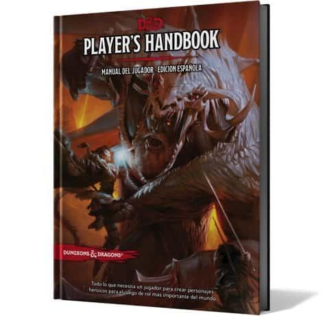 DUNGEONS & DRAGONS: PLAYER'S HANDBOOK, MANUAL DEL JUGADOR EDICION ESPAÑOLA
